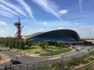 Olimpovci razvili zastavu na London Aquatic Centre